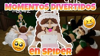 MOMENTOS DIVERTIDOS en Spider 🕷🤣 | Funny Moments in Spider🔥 - Roblox