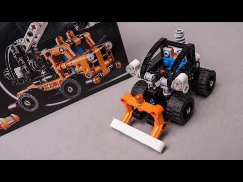 Lego Technic 42088 Moc Mini Tractor Building Tutorial Youtube