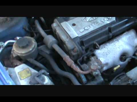 Part 1 Changing Your Timing Belt Accent 1 6l Eng Youtube