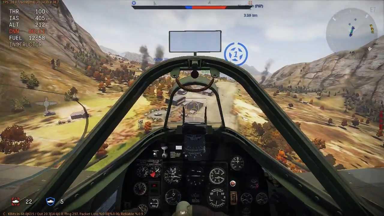 War Thunder Arcade Mouse Aim Cockpit Cinematic Youtube
