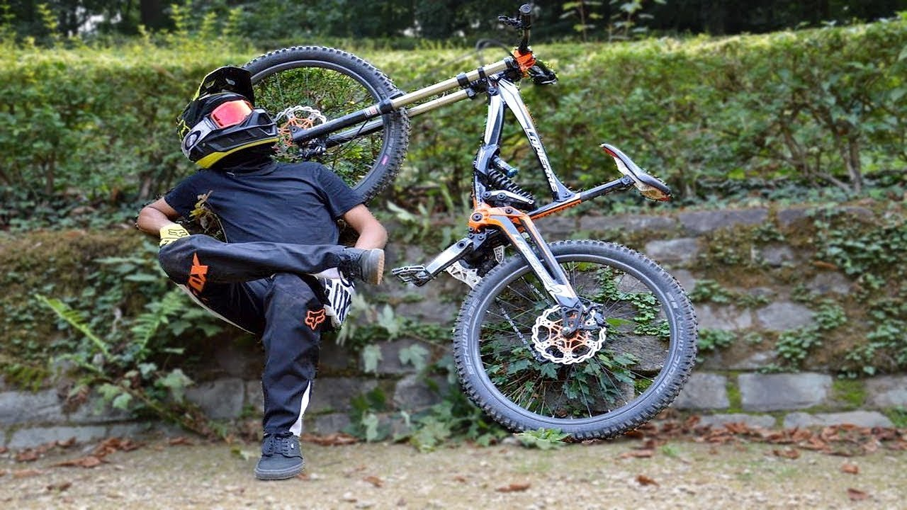 Un Vrai Bourrin En Dh Vtt Freeride Youtube