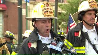 Fire officials provide briefing on fatal Brooklyn fire