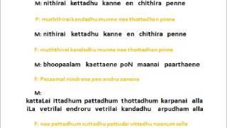 Paaraamal Paartha Nenjam - Karaoke for Male Singers by Hamsapriya