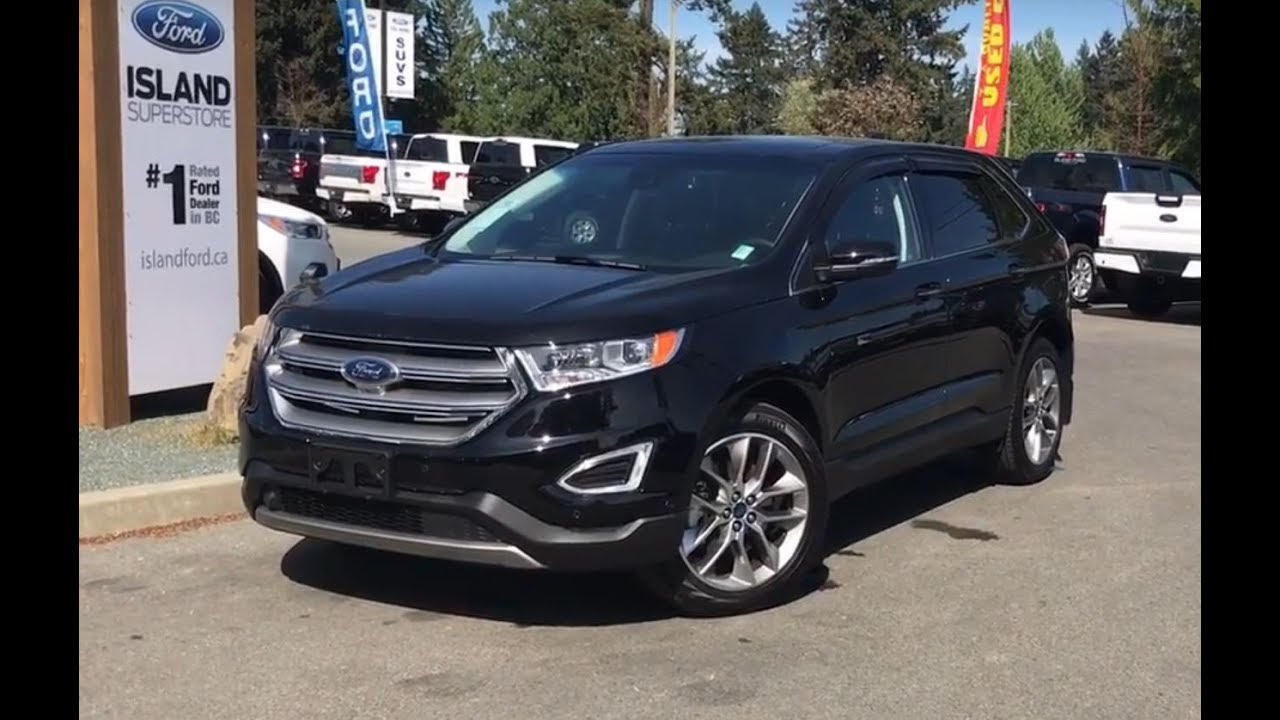 Ford Edge Titanium Canadian Touring Awd Review Island Ford
