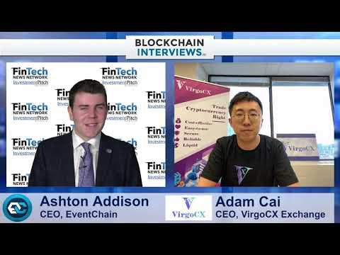 Blockchain Interviews – Adam Cai, CEO of VirgoCX cryptocurrency exchange