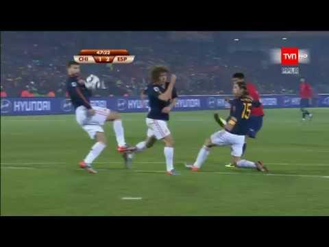 Gol de Rodrigo Millar a España - Sudáfrica 2010