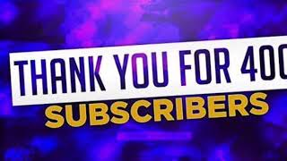 THX FOR 400 SUBS ( ROBLOX)