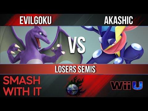 SWI 84 - Evilgoku (Charizard) vs. Akashic (Greninja) - Losers Semis - Smash Wii U