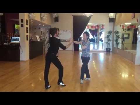 91 YEARS OLD JOSIE LEE dancing at the Fred Astaire Redondo Beach