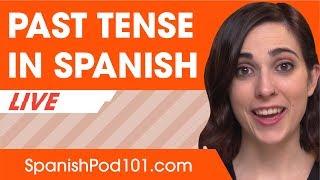 Past Tense - Basic Spanish Verb Conjugation