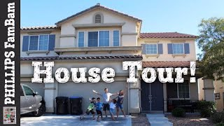 🏡 MESSY HOUSE TOUR 🏡 | TOUR OUR HOME |  PHILLIPS FamBam Vlogs