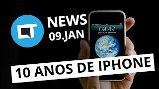 Dez anos do primeiro iPhone, Anúncio do Nokia 6, Novo NES hackeado e + [CT News]