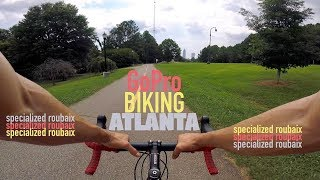 GoPro Biking Atlanta - Specialized Roubaix
