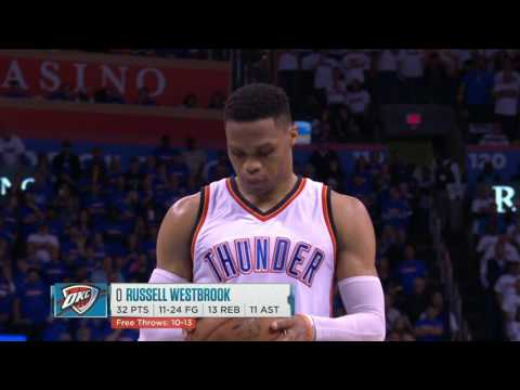 Houston Rockets at Oklahoma City Thunder - April 21, 2017