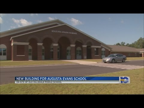 New Augusta Evans School gets ready to open