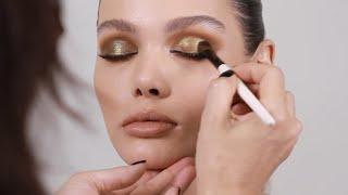 Klasik Dramatik Glam Göz Makyajı Oluşturma ND Metropol Palet Kullanarak Bak
