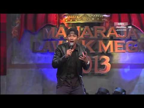 Maharaja Lawak Mega 2013 - Minggu 8 - Persembahan Nabil