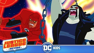Justice League Action | Red Lantern Team Up | DC Kids