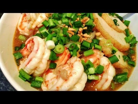 How to make Singapore Prawn Noodles Soup