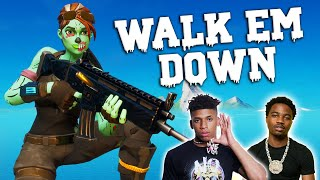 "Fortnite Montage - ""WALK EM DOWN"" (NLE Choppa & Roddy Ricch)"