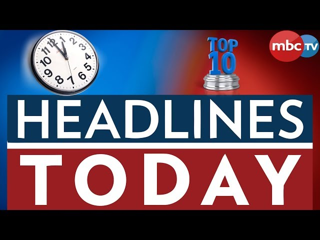 MBC NEWS HEADLINES TOP10@1PM || MBCTV