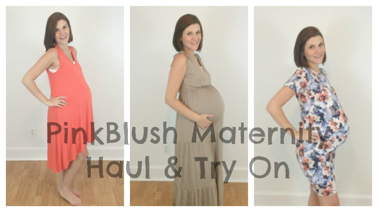 Pinkblush Maternity Dress Haul Try On 75 Giveaway Closed Youtube