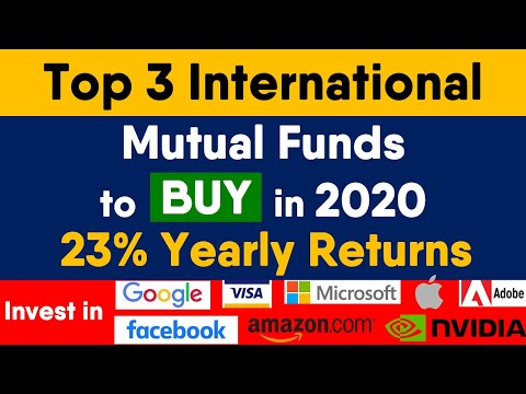 Top 3 Best International Mutual Funds (23% Return) | Best Foreign Mutual Funds to Invest in India