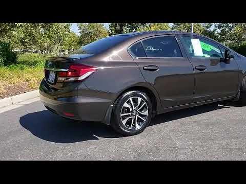 2013 Honda CIVIC Sedan EX Folsom Roseville Elk Grove Sacramento El Dorado Hills