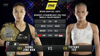 Xiong Jing Nan vs. Tiffany Teo: ONE Inside the Matrix (FULL MATCH)