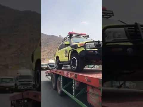 سيارات من نوع جيب صالون جديد الدفاع المدني السعودي بحث وانقاذ