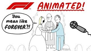 F1 Animated! The Funny Side Of 2019 So Far...
