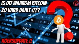 😤 Live stream Doopie Cash | Is dit waarom Bitcoin zo Hard Daalt?