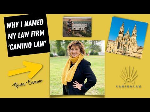 El Camino de Santiago inspired the name of my law firm.