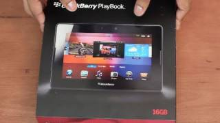 Unboxing: New Blackberry Playbook