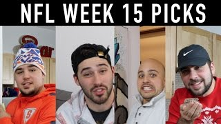 2016-17 NFL Week 15 Blind Picks