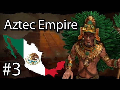 What if Mexico took over the world! (Sid Meier's Civilization 6) Aztec Empire Pt.3 |