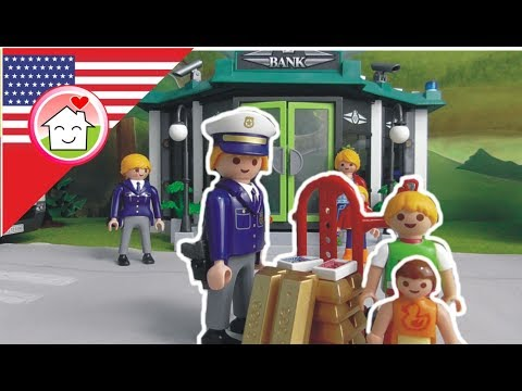 Playmobil police video The Bank Robbery - Chief Overbeck