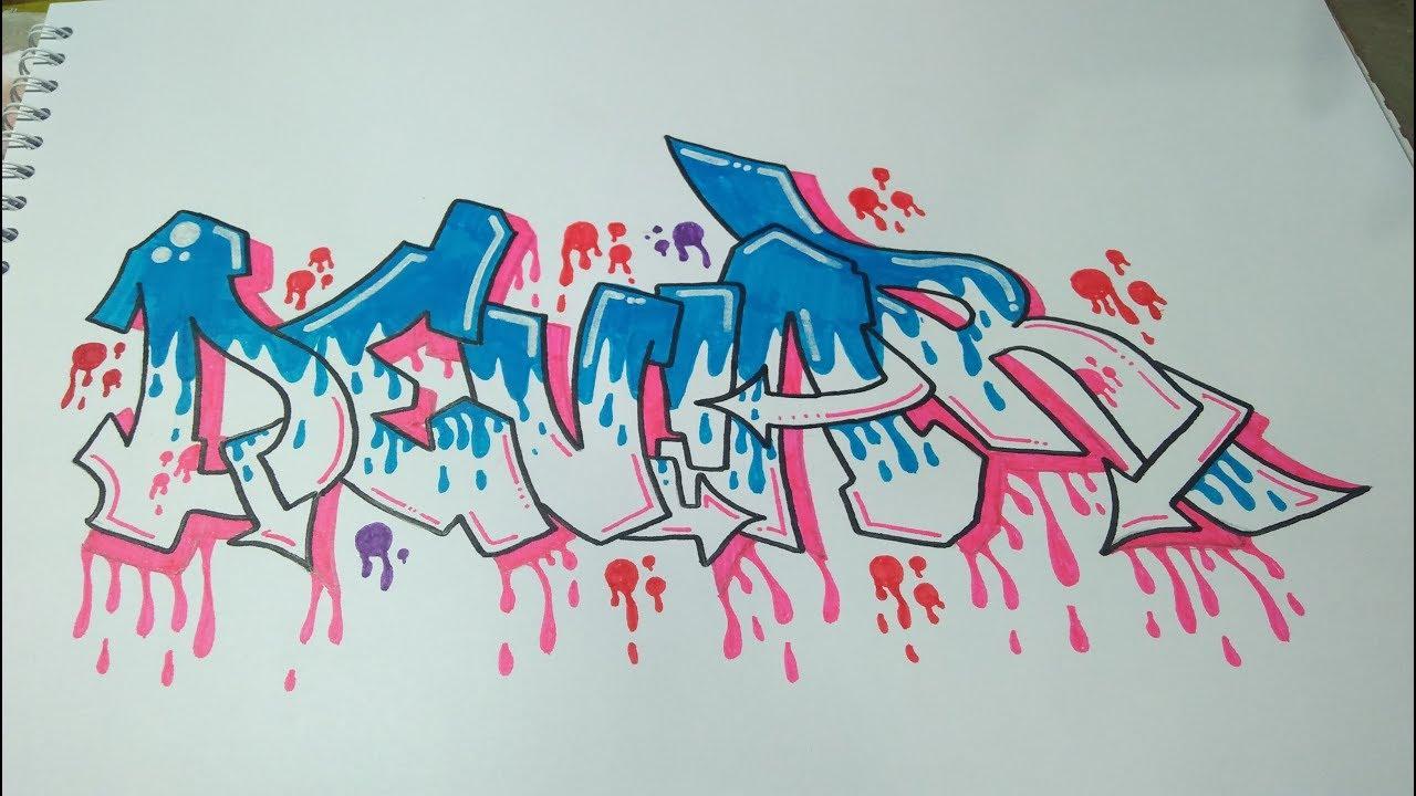 Request graffiti nama deviar