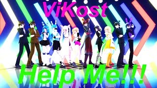 【MMD x FNAF】Help Me!!!