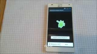 LG Optimus 4X HD  LG P880 factory reset