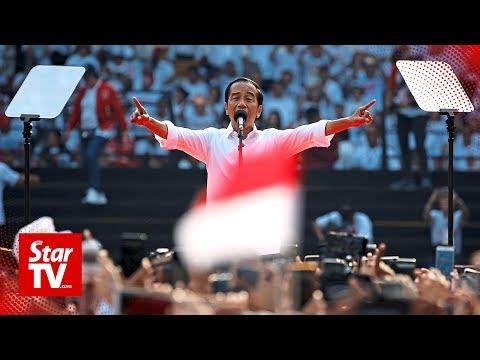 Indonesia's Joko Widodo On Course For Victory