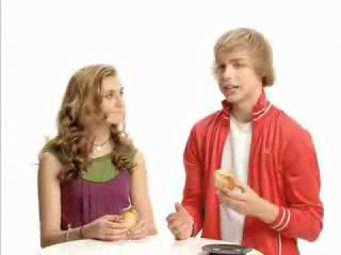 Alyson Stoner & Cody Linley Commercials