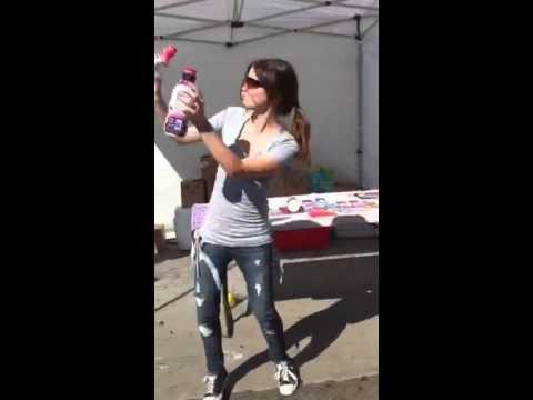 GENNA DANCING AT WORK