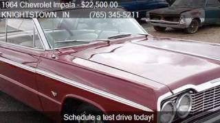 1964 Chevrolet Impala SS HARDTOP for sale in KNIGHTSTOWN, IN