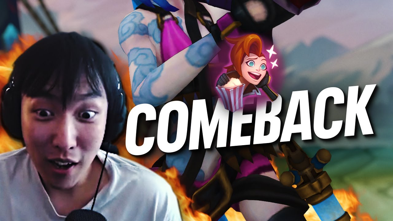 THE GREATEST COMEBACK IN HISTORY ft Asyc | Doublelift