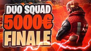 💵💪🏻 DUO SQUAD FINALE UM 5000€! Finale gegen M10 Harmii und Pepper | Fortnite