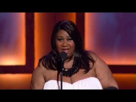 Aretha Franklin Receives the 39th NAACP Image Awards' Vanguard Award