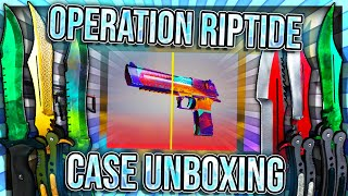 OPERATION RIPTIDE UNBOXING + NEW OPERATION