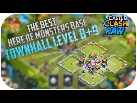 Best Here Be Monsters Base For Townhall Level 8+9