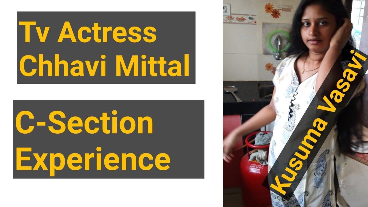 TV actress Chhavi Mittal experience about forced c sec births|women health|kusumavasavi